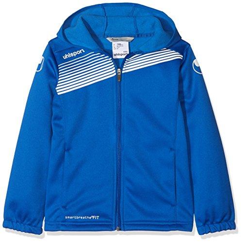Uhlsport 100516006 Veste à Capuche Homme Azur Bleu/Blanc FR : 3XL (Taille Fabricant : 3XL)