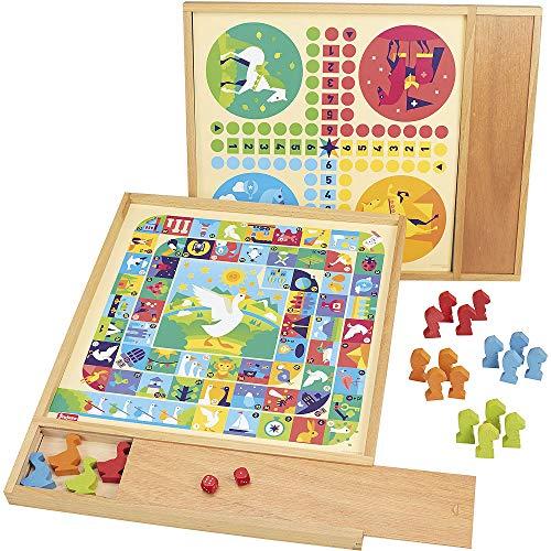 Jeujura - 8117- Jeux de Société- Jeux de lOie et Petits Chev