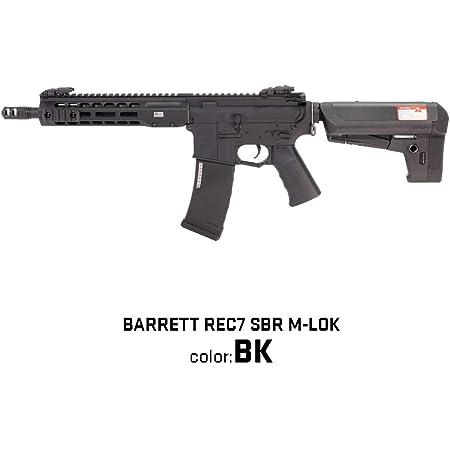 Laylax【KRYTAC】【BARRETT REC7 SBR M-LOK】【BK】 ブラック