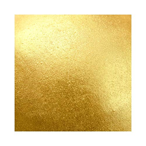 Rainbow Dust Edible Silk Essbarer Glitzerpuder , Farben:Metallic Golden Sands