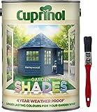 Nueva fórmula mejorada 2017Cuprinol Garden Shades Barleywood 5L. Ahora ofrece 6año jardín madera protección contra la intemperie. Incluye PSP Touch Up cepillo de cuidado de la madera.
