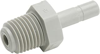 Acetal Parker A8UC5-MG-pk20 Push-to-Connect All Plastic FDA Compliant Fitting 1//2 and 5//16 1//2 and 5//16 Pack of 20 Push-to-Connect Union Tube to Tube Pack of 20 Trueseal