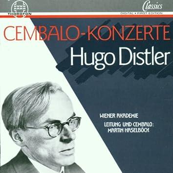 Hugo Distler: Cembalo-Konzerte