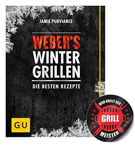 Weber's winterbarbecue: de beste recepten (GU Weber's grillen) gebonden boek + grillmeester sticker by Collectix.
