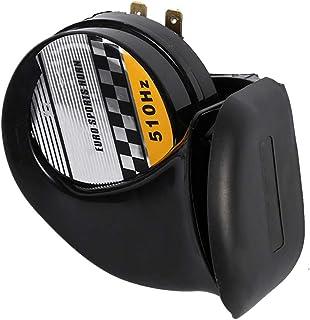 Cuerno de caracol universal de 12 V, Cuerno de caracol eléctrico de motocicleta con voz fuerte, Cuerno de sirena de caracol impermeable para automóvil, vehículo, camión, motocicleta