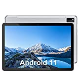 Blackview Tab10 Tablet 10.1 Pulgadas, Android 11 Ultrar-Rápido Tableta WiFi 4G Dual SIM,4GB RAM 64GB ROM (TF 128GB) Octa-Core, Batería 7480mAh, 1920x1200 FHD+,13MP Cámara,Bluetooth,OTG,Carga Rapida