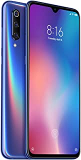 "Celular Smartphone Xiaomi Mi 9 128GB/6GB 48MP+12.0 Snapdragon 855 NFC Wireless Fast Charge Tela 6,39"" Cor Ocean Blue/Azul"