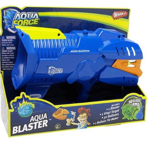 AquaForce- Aqua Blaster, Pistola de Globos de Agua niñas a Partir de 8 años, Azul ((Famosa 700010520)
