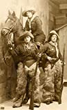 8 x 10 Photo Old West Cowgirls