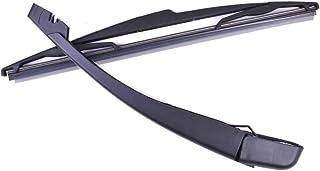 XZANTE Nero Indietro per Il portellone Posteriore di Hatchback Peugeot 207 Bracci tergicristalli