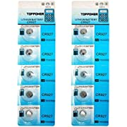 TOPPOWER Lithium Button Cell Battery 3V CR927 2-Pack