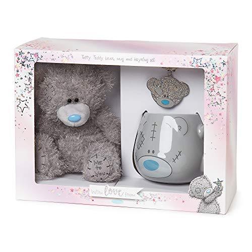 Me to You AGZ01079 Me to You Tatty Teddybär, Schlüsselanhänger und Tasse, Geschenkset