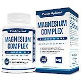 Best Magnesium Supplements - Premium Magnesium Complex - Magnesium Citrate, Malate, Taurate Review