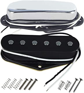 FLEOR Wax Potted Guitar Pickup para Fender Tele Style Reemplazo de Guitarra similar