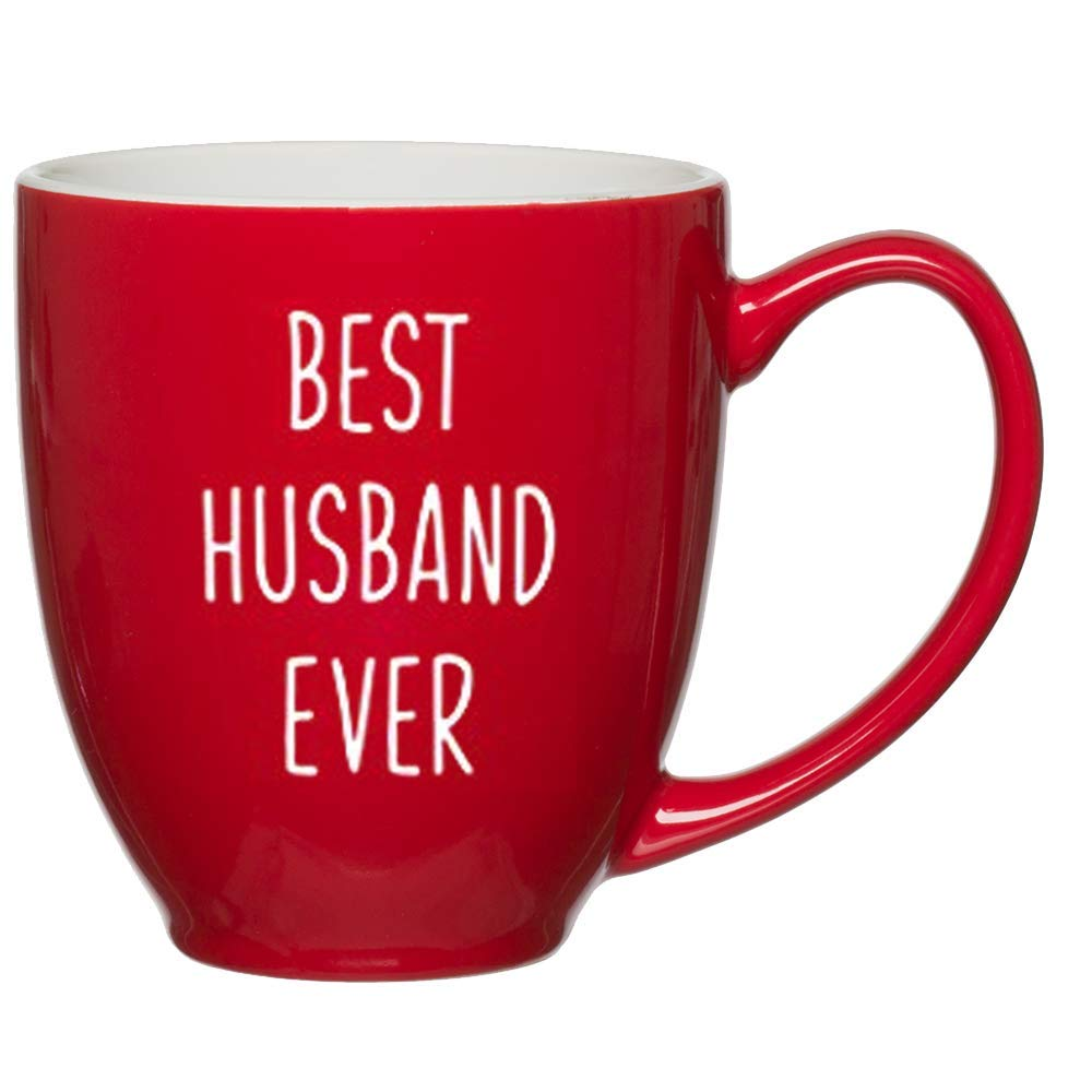 Best Husband Ever Customized Red Bistro Mug for Husband Birthday or Anniversary Gift Ideas for  sc 1 st  Amazon.com & Best Valentine Gifts For Husband: Amazon.com