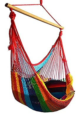 Hammocks Rada Handmade Yucatan Hammock Chair - True Comfort, True Quality, World's Best Handmade Hammock Chair- 100% No-Hassle Satisfaction Guarantee