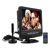 SOYAR Téléviseur portable LCD 9 '(22,86 cm) avec syntoniseur TV numérique DVB-T2 /...