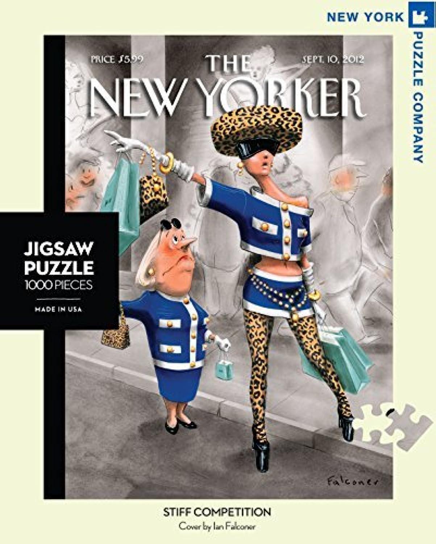 New York Puzzle Company - New Yorker Stiff Competition - 1000 Piece Jigsaw Puzzle by New York Puzzle Company B01M2DGWNO Schön | Exquisite (mittlere) Verarbeitung