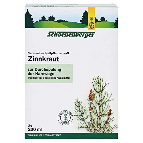 ZINNKRAUT SAFT Schoenenberger Heilpflanzensäfte 600 Milliliter