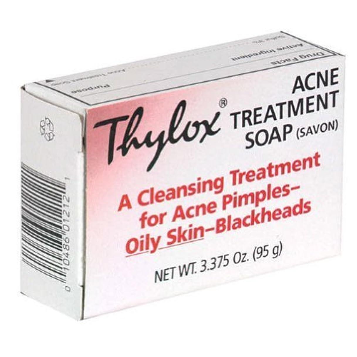 収まる矢じり勘違いするThylox Acne Treatment Bar Soap with Sulfur - 3.25 oz by Grandpa's