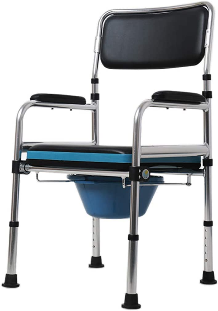 LZLYER Shower Chair Our shop OFFers the best service Max 90% OFF Toilet Bathtub Bedside Steel Foldable Commod