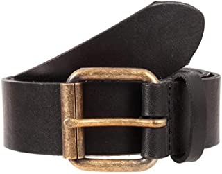 Dents Waxed Leather Belt