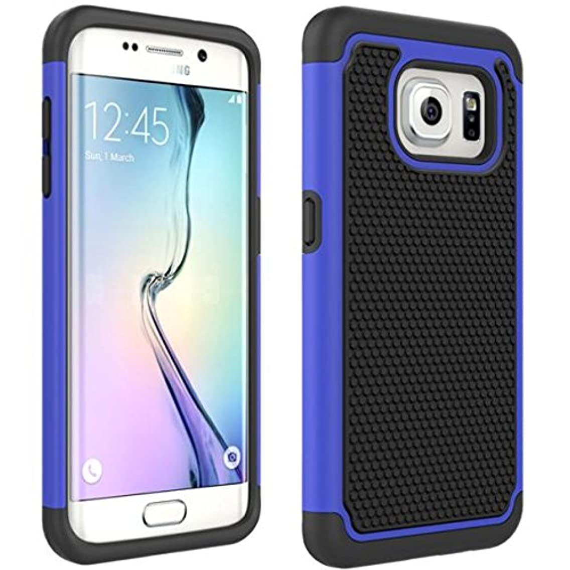 AT&T Samsung Galaxy S7 Edge (SM-G935A) Case, Shockproof Hybrid Case Dual Layer Defender Cover Reinced Drop Protection for Samsung Galaxy S7 Edge (SM-G935A)