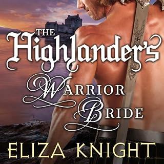 The Highlander's Warrior Bride audiobook cover art
