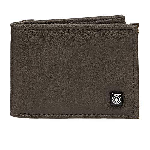 Element Segur, Travel Accessory-Bi-Fold Wallet Unisex - Adulto, (marrón), U