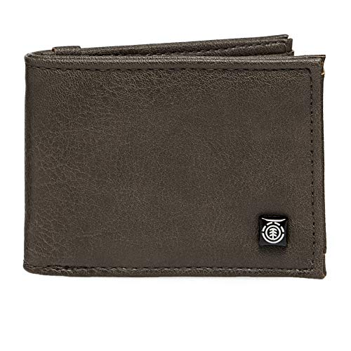 Element SEGUR Wallet, Travel Accessory-Cartera de Viaje Unisex Adulto, marrón, U