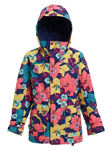 Burton Girls Elstar Jacket, Flowers!, Large