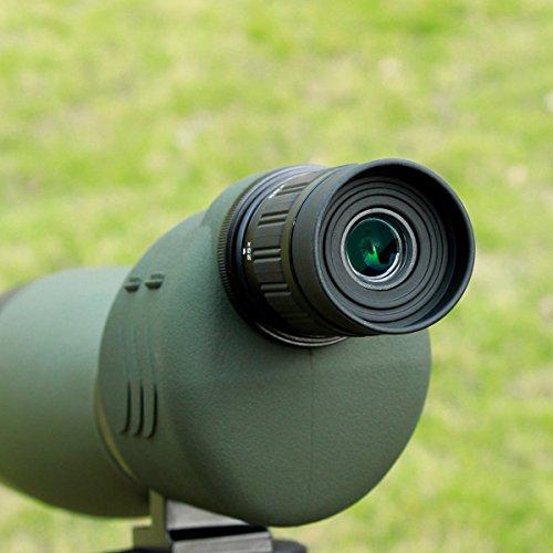 SVBONYSV17フィールドスコープスポッティングスコープ直視型大口径防水バードウォッチングアーチェリー射撃日本語マニュアル(25倍-75倍70mm)(四段三脚付き)