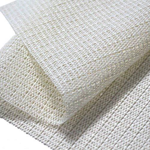 ZIRAN Alfombra de área Ultra Antideslizante Alfombrilla Antideslizante Pinzas de Alfombrilla Protección del Piso Alfombrilla de 3 tamaños -PVC