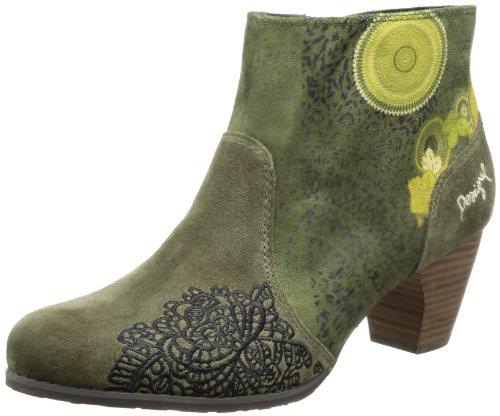 Desigual Ankle Boot Josefa, Bottes Chelsea Femme - Vert - Grün (Kaki 4092), 36 EU