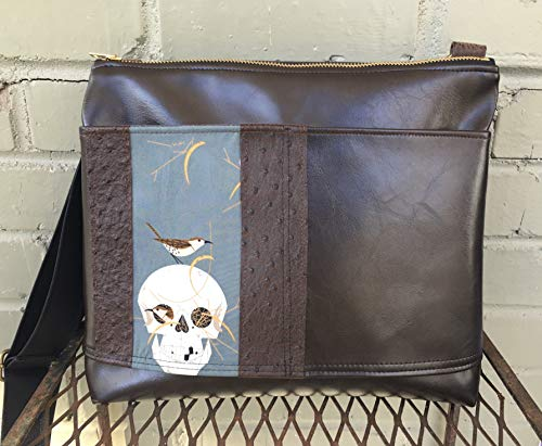 Handmade Large Crossbody Bag - Charley Harper