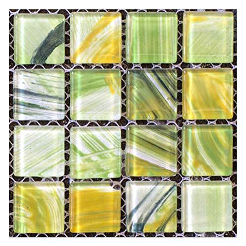 BMEA 20 pegatinas de pared impermeables autoadhesivas 3D para azulejos de pared con efecto 3D, para cocina y baño (7)