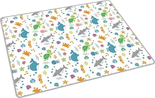 AZIAMOR 2021 Tappeto pavimento Maxi Vita Marina Per Bambini In Gomma Eva 200x150 cm