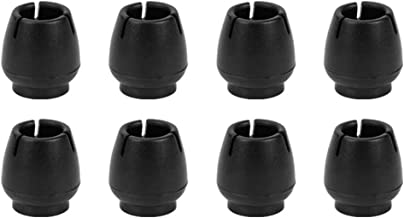 Vegena Beschermkappen voor stoelpoten, 8 stuks, stoelpootbescherming, rubberen stoelpootbeschermers, ronde tafel- en stoel...