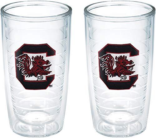Tervis South Carolina Gamecock Emblem Tumbler (Set of 2), 16 oz, Clear -