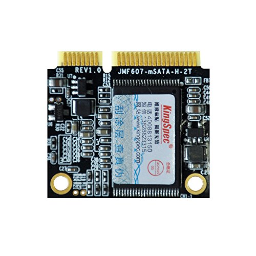 Kingspec 64GB mSATA Half Size SSD 64gb mSATA Half Slim 32.5cm for Industrial Motherboard,Ultra notebooks