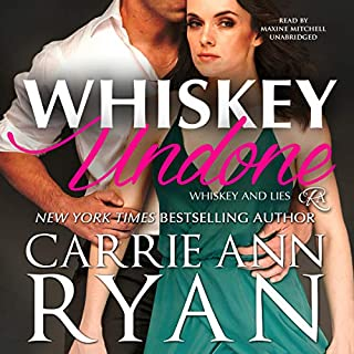 Whiskey Undone audiobook cover art