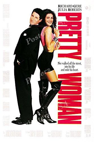 "Posters USA Richard Gere Pretty Woman Movie Poster GLOSSY FINISH - FIL135 (24"" x 36"" (61cm x 91.5cm))"
