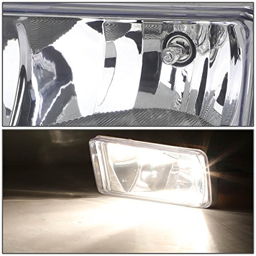 LED Fog Light for Tacoma 2005-2011// Solara 2004-2006// Sequoia 2008-2015// Tundra 2007-2013 LED Fog lamps Assembly Kit 1 Pair Black