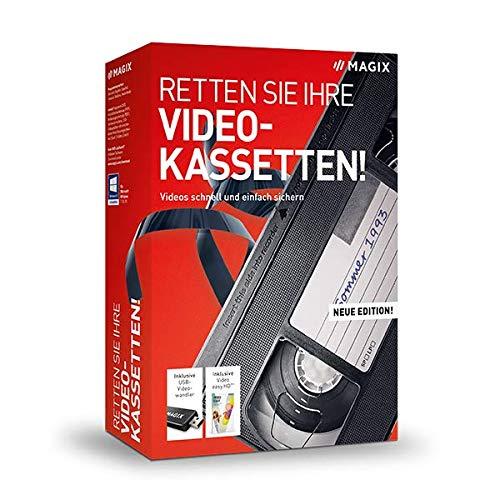 Retten Sie Ihre Videokassetten! – Version 11 – Videos schnell und einfach sichern|Standard|mehrere|limitless|PC|Disc|Disc