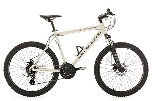 KS Cycling Mountainbike Hardtail MTB 26'' GTZ weiß RH 51 cm