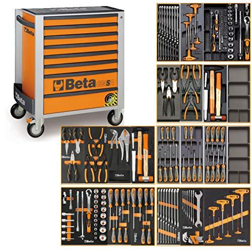 Beta C24SA Werkzeugwagen mit Antikipp-System und 191 teiligem Werkzeugsortiment