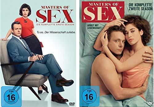 Masters of Sex - Season/Staffel 1+2 im Set - Deutsche Originalware [8 DVDs]