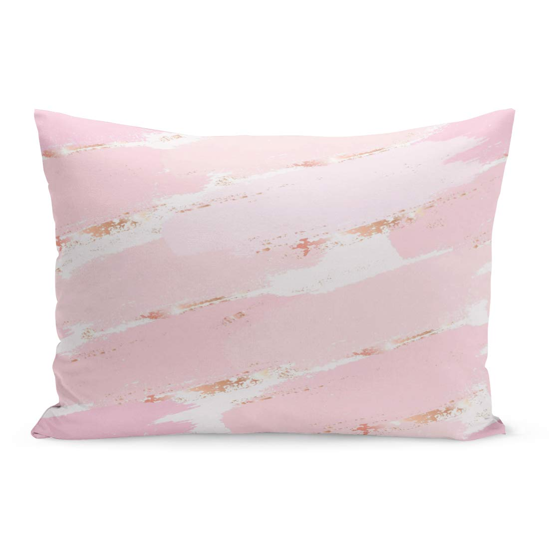 Throw Pillow Cover Pink Rose Gold