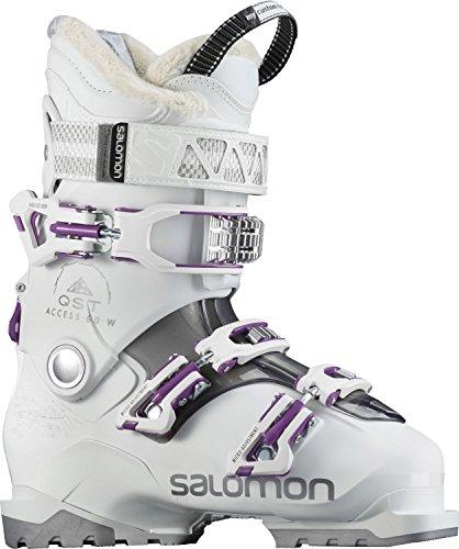 Chaussures de ski pour femmes Salomon QST Access 60 2018 chaussures de ski, Mixte, white/anthracite...