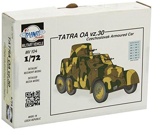 Models Planet mV104 modellbausatz Tatra oA vz.30